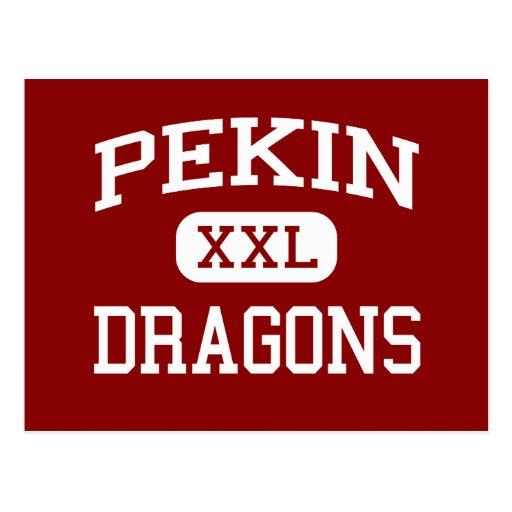 Pekin - Dragons - Community - Pekin Illinois Post Cards