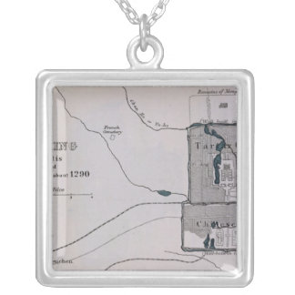 Peking, from 'The Book of Ser Marco Polo' Silver Plated Necklace