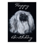 Pekingese Birthday Greeting Card