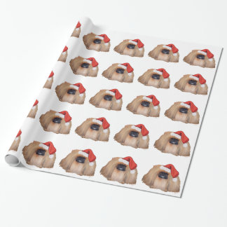 Pekingese Christmas Wrapping Paper