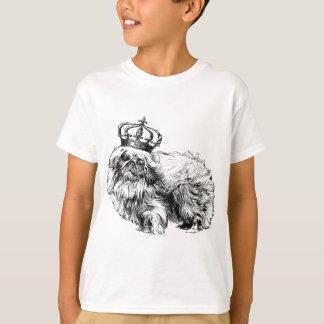 Pekingese Crown Dog Royal T-Shirt