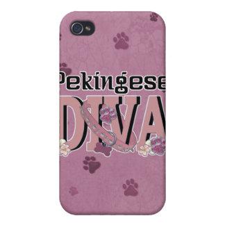 Pekingese DIVA iPhone 4/4S Cover