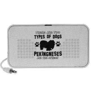 Pekingese dog breed designs mini speaker