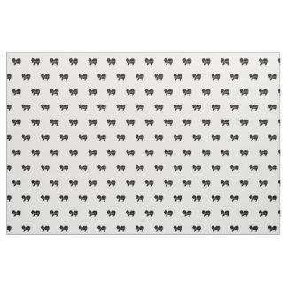 Pekingese Love Fabric