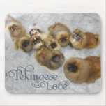 Pekingese Love Mousemats