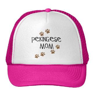Pekingese Mom Mesh Hats