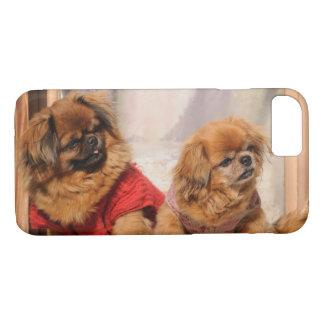 Pekingese Pair iPhone 8/7 Case