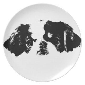 Pekingese Plate