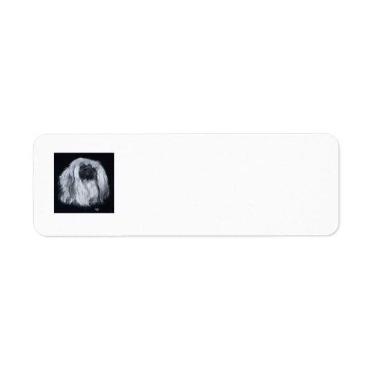 Pekingese  Return Address Labels