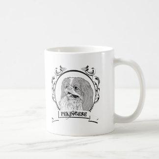 Pekingese T-shirt Mugs