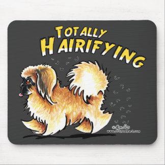 Pekingese Totally Hairifying Mouse Pad