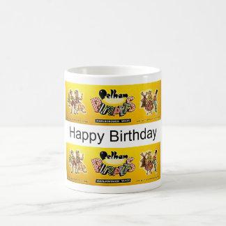 pelcup Happy Birthday Basic White Mug