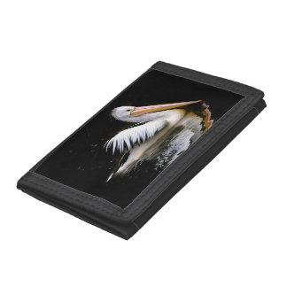PELECANUS CONSPICILLATUS (Australian pelican) ~ Trifold Wallets