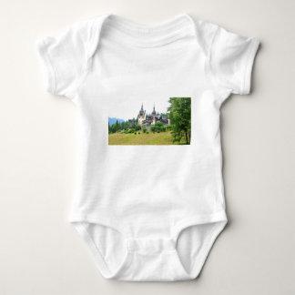 Peles Castle in Sinaia, Romania Baby Bodysuit