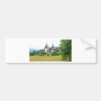 Peles Castle in Sinaia, Romania Bumper Sticker