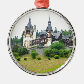 Peles Castle in Sinaia, Romania Christmas Ornament