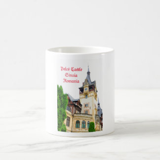 Peles Castle in Sinaia, Romania Coffee Mug