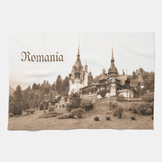 Peles Castle in Sinaia, Romania Hand Towels