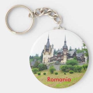 Peles Castle in Sinaia, Romania Key Ring