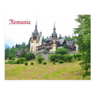 Peles Castle in Sinaia, Romania Postcard