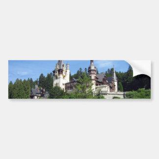 Peles-castle SCENIC WONDERS PELES CASTLES ARCHITEC Bumper Sticker