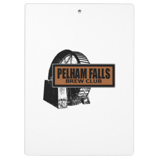 Pelham Falls Brew Club Clipboard