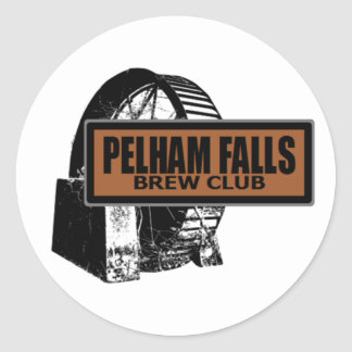 Pelham Falls Brew Club Round Sticker