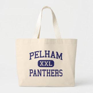 Pelham Panthers Middle Detroit Michigan Canvas Bags