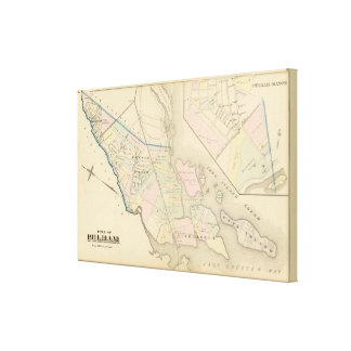 Pelham, Pelham Manor, New York Canvas Print