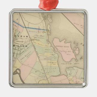 Pelham, Pelham Manor, New York Christmas Ornament
