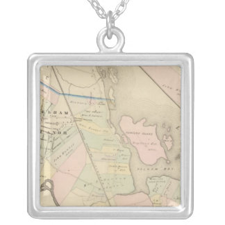 Pelham, Pelham Manor, New York Silver Plated Necklace