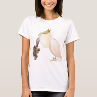 pelican and turtle T-Shirt
