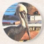Pelican Art Coaster