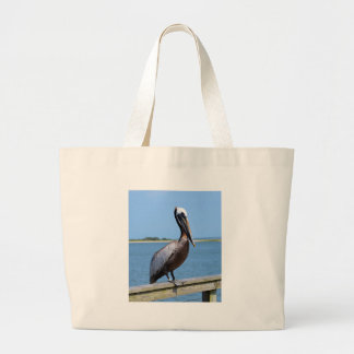 Pelican At Southport Tote Bags