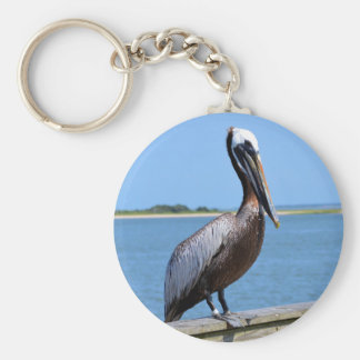 Pelican at Southport Key Chains