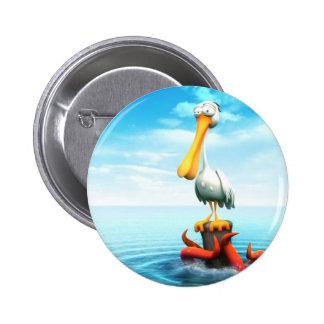 Pelican Pinback Buttons