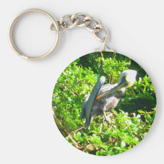 Pelican Basic Round Button Key Ring