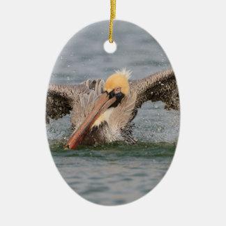 Pelican Bath Time Christmas Ornaments