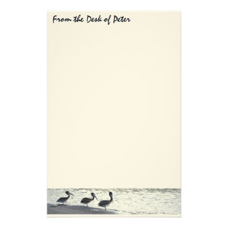 Pelican Birds Wildlife Animals Stationery