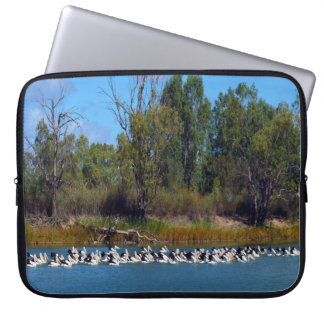 Pelican_Fishing_Frenzy,_15_Inch_Laptop_Sleeve Laptop Sleeve