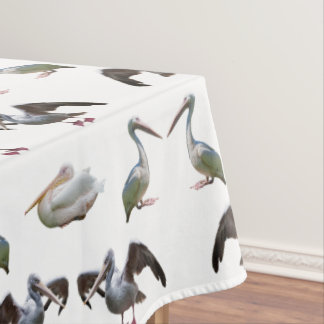 Pelican Frenzy Tablecloth (choose colour)