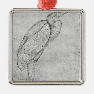 Pelican, from the The Vallardi Album Christmas Ornament