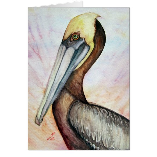 pelican good vibes card