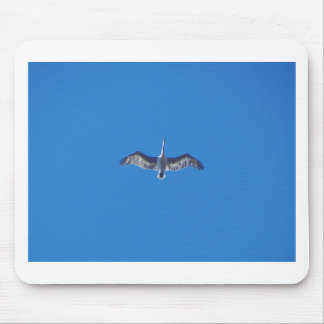 Pelican In Flight Mouse Pad