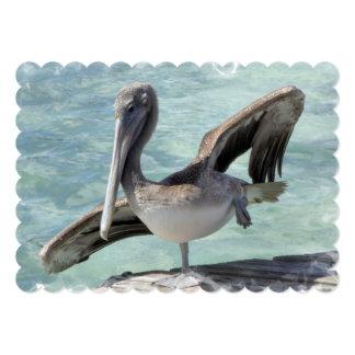Pelican 13 Cm X 18 Cm Invitation Card