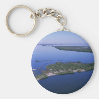 Pelican Island Basic Round Button Key Ring