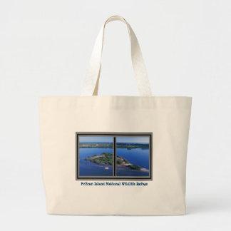Pelican Island National Wildlife Refuge Jumbo Tote Jumbo Tote Bag