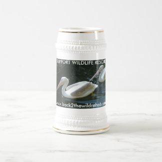 Pelican Mug, Support Wildlife Rescue Beer Steins