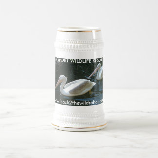 Pelican Mug, Support Wildlife Rescue Beer Steins