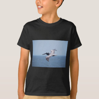 PELICAN OVER ST GEORGE ISLAND FL T-Shirt